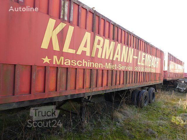 BUDAMOBIL Deutrans semirremolque furgón