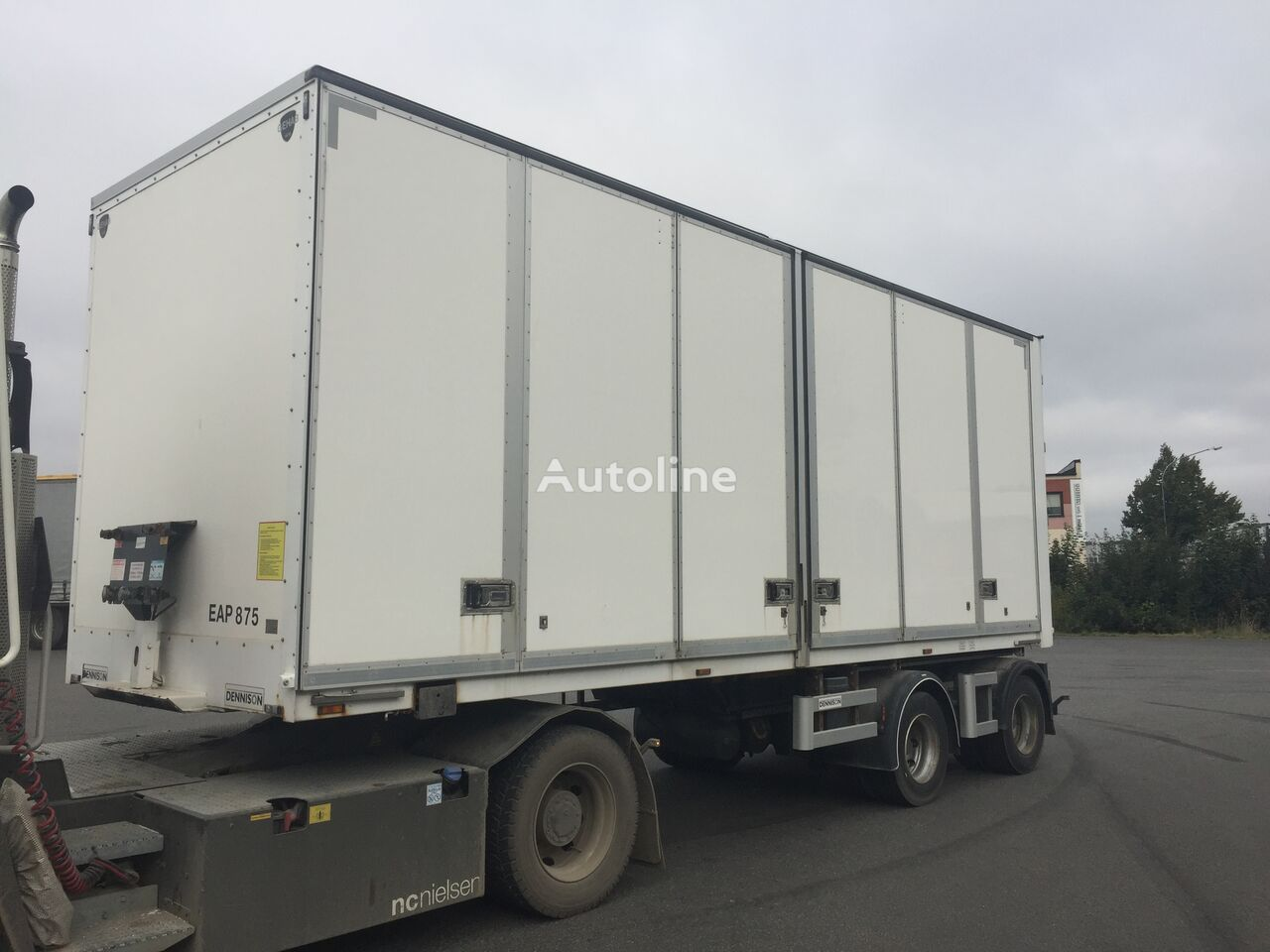 DENNISON LINK BOX OPENSIDE - EAP875 semirremolque furgón
