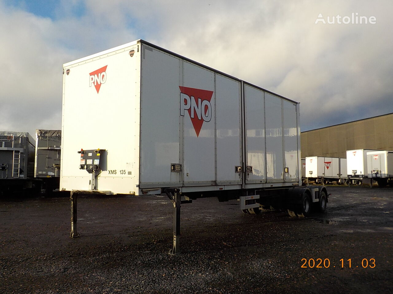 DENNISON LINK BOX OPENSIDE - XMS135 semirremolque furgón