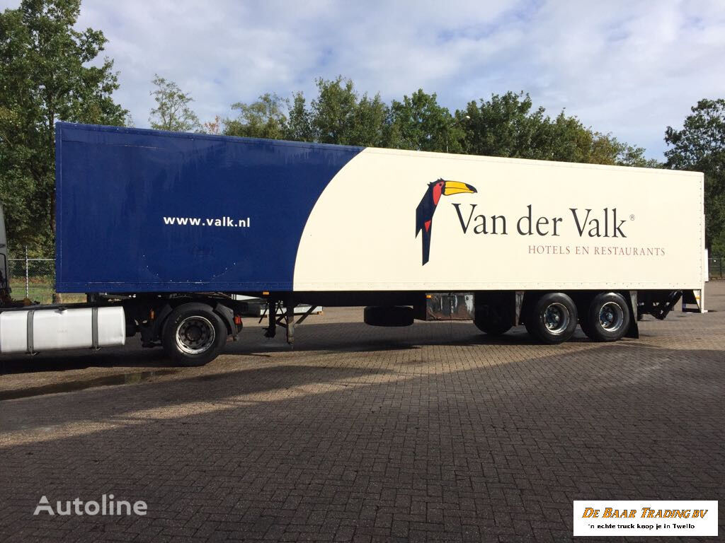 ESVE OPLEGGER CLOSED BOX semirremolque furgón