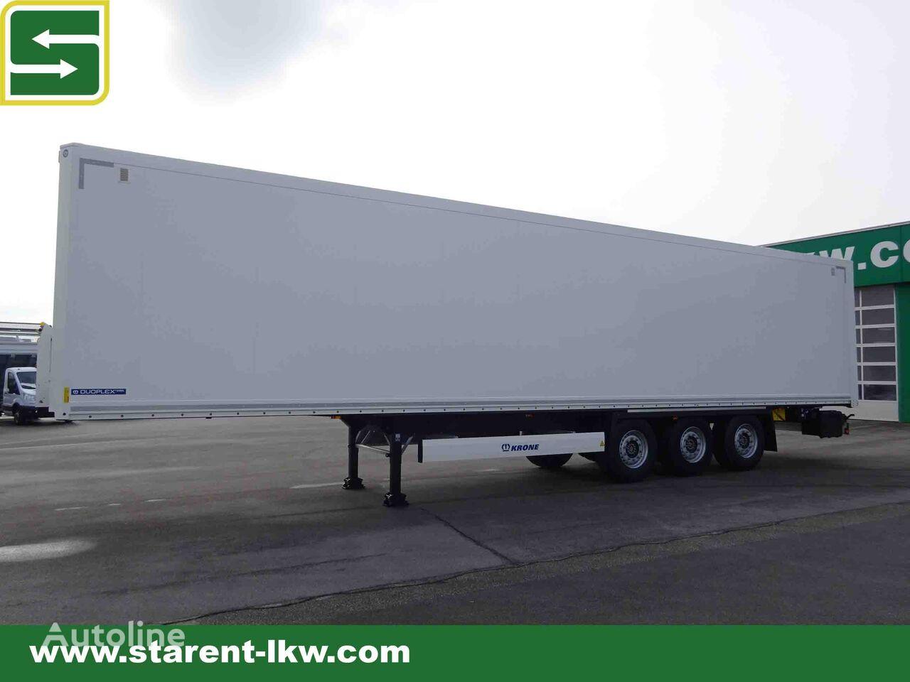 KRONE Trockenfrachtkoffer, Zurrleisten, Liftachse semirremolque furgón nuevo