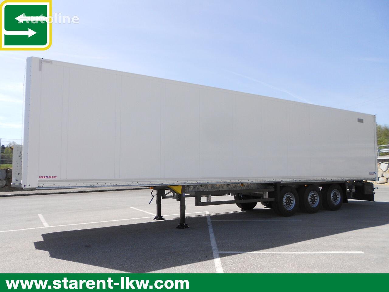 SCHMITZ CARGOBULL Trockenfrachtkoffer, Doppelstock, Liftachse, Zurrleiste    semirremolque furgón