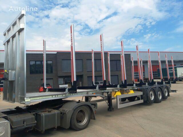 BENALU Alu-Sattel Kurz- Langholz  semirremolque maderero nuevo