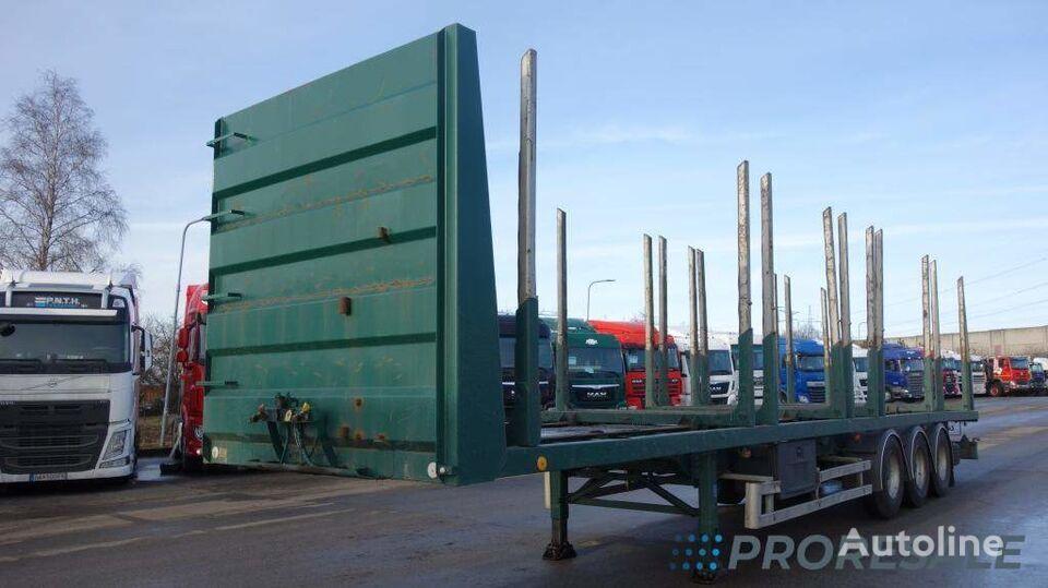 BSS METACO NV 35.28.24-STEU - klanicový návěs pro přepravu dřeva semirremolque maderero