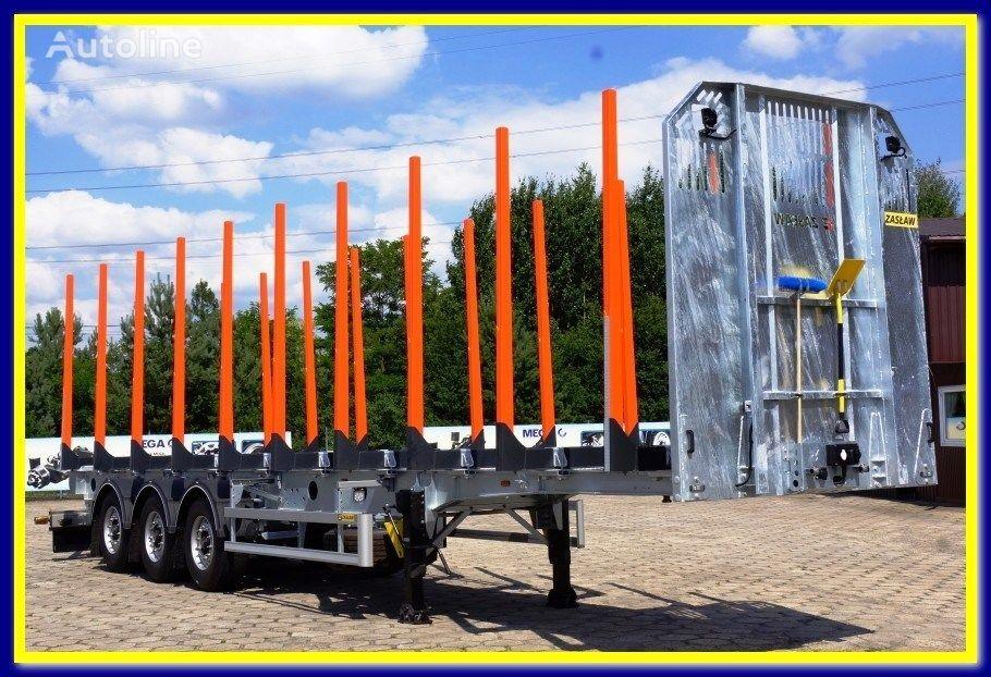 ZASLAW TRAILIS 4.600 KG Super Light Timber semi-trailer - READY !!! semirremolque maderero nuevo