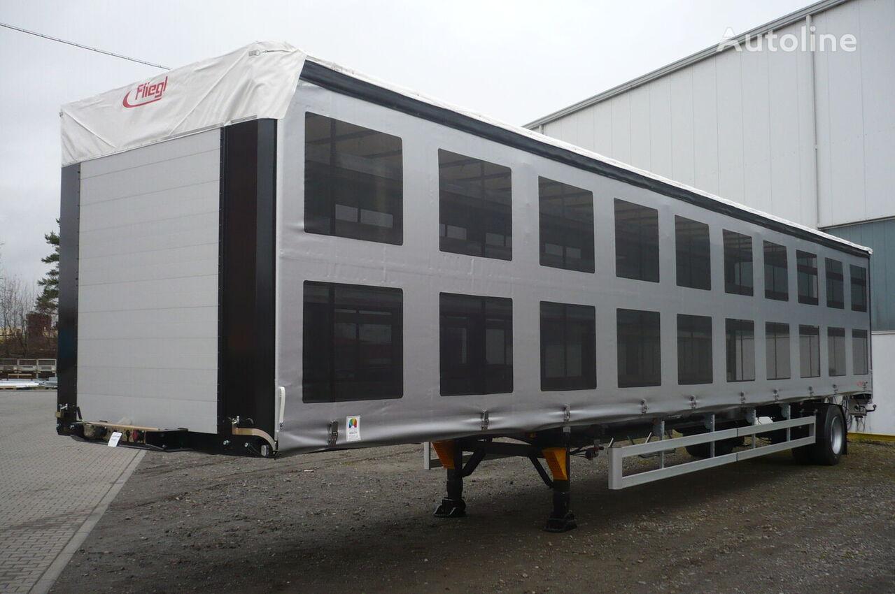 FLIEGL SDS 350 pticevoz semirremolque para transporte de aves nuevo
