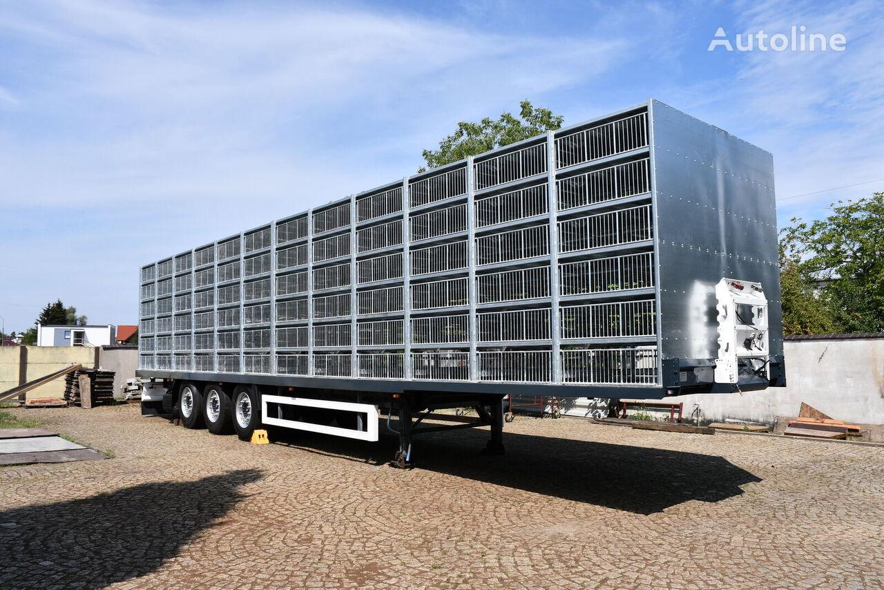 KRONE SDP27 Profi Liner semirremolque para transporte de aves nuevo