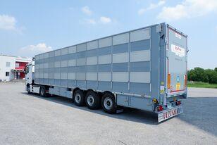 PEZZAIOLI SBA63 (у наявності, в Києві) semirremolque para transporte de ganado nuevo