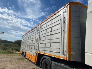 PLAVAC PLATEK semirremolque para transporte de ganado