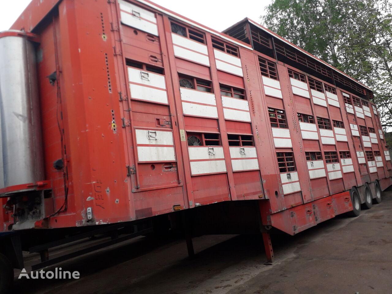 MICHIELETTO SM 36APB semirremolque para transporte de ganado