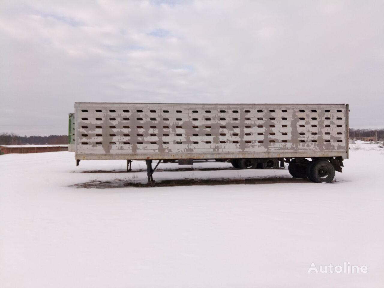 semirremolque para transporte de ganado ODAZ 9938