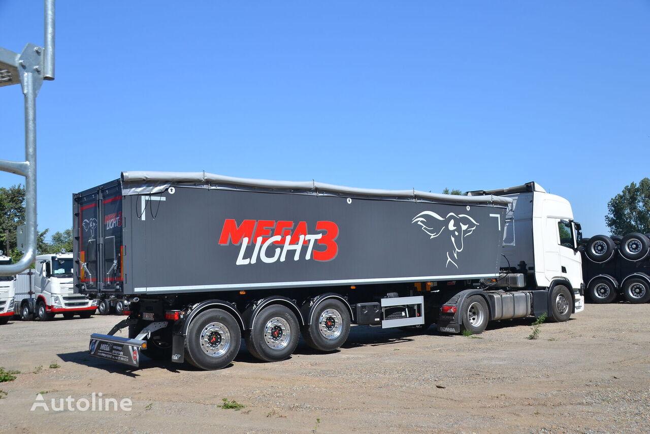 MEGA LIGHT 3. beznalichnyy raschet s NDC, lizing,garantiya. semirremolque para transporte de grano nuevo