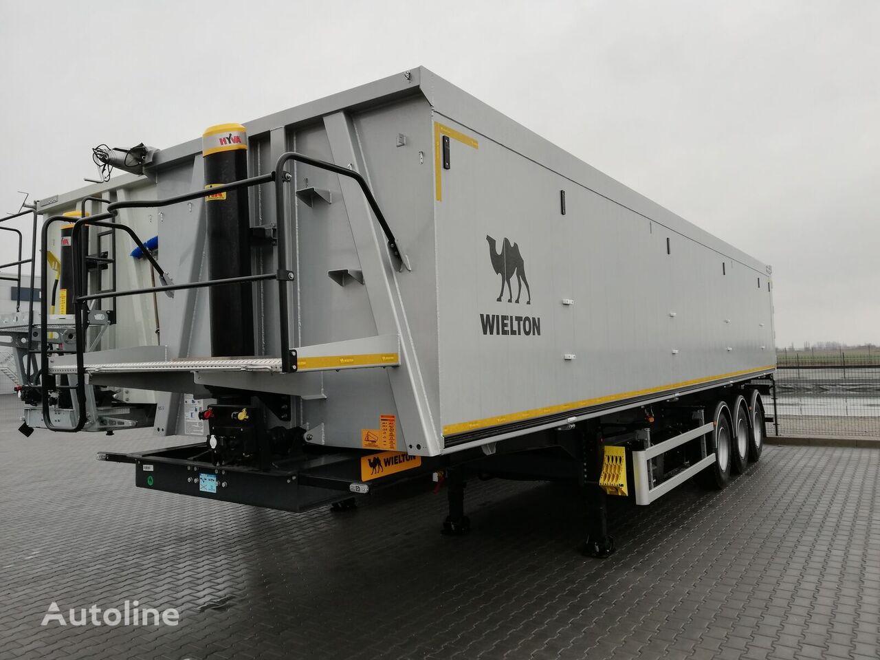 WIELTON NW3 semirremolque para transporte de grano nuevo