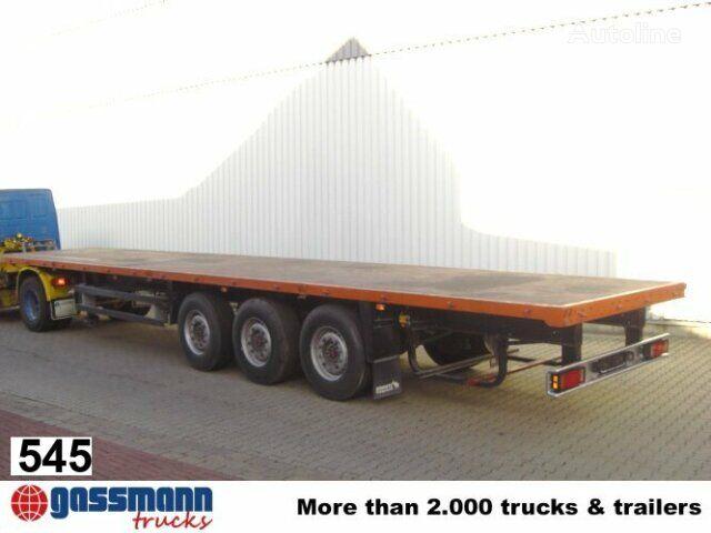 SCHMITZ CARGOBULL Cargobull SPR / 24 semirremolque plataforma