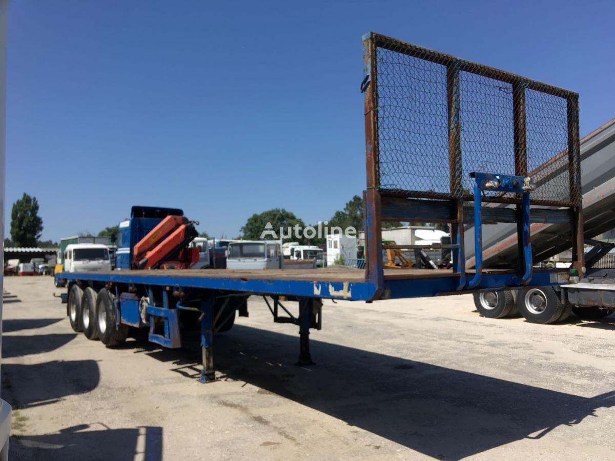 MONTENEGRO 3 Axles - ABS System semirremolque plataforma