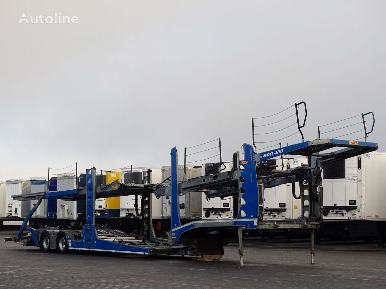 ROLFO EGO 426 / EURO LOHR / AUTOTRANSPORTER / 9 CARS /  semirremolque portacoches