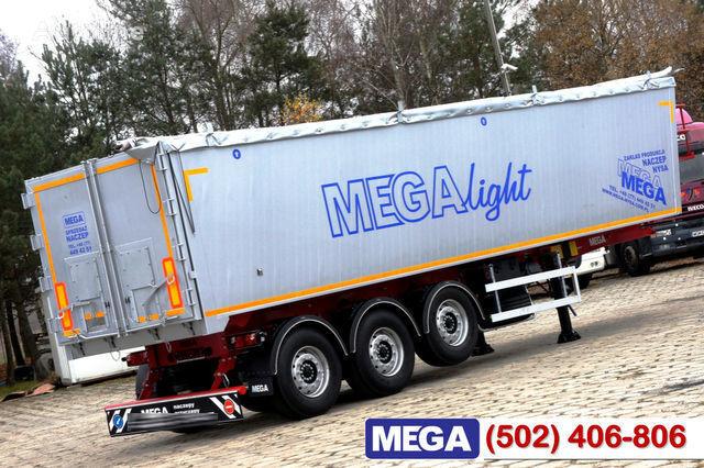 KARGOMIL 42 - 45 m³ Alubox - ULTRA - light only 5,800 kg weight ! READY T semirremolque transporte de grano nuevo