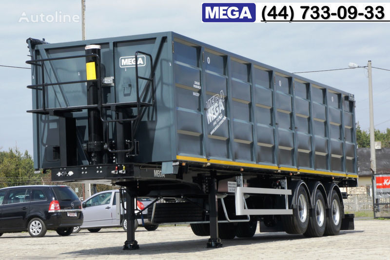 MEGA 11,4 m / V = 55 m³ ctalovyy kuzov klapan-dverey / Luk dla zerna! semirremolque transporte de grano nuevo