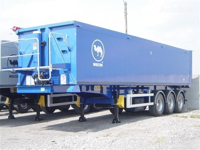 WIELTON NW - 3 (50m3) semirremolque transporte de grano nuevo