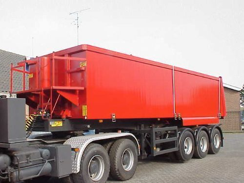 ATM 3 axle Tiptrailer with 32 m3 aluminium body semirremolque volquete