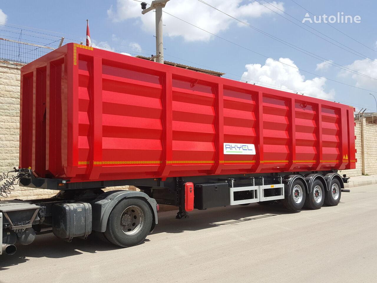 AKYEL TREYLER Scrap semi trailer semirremolque volquete nuevo