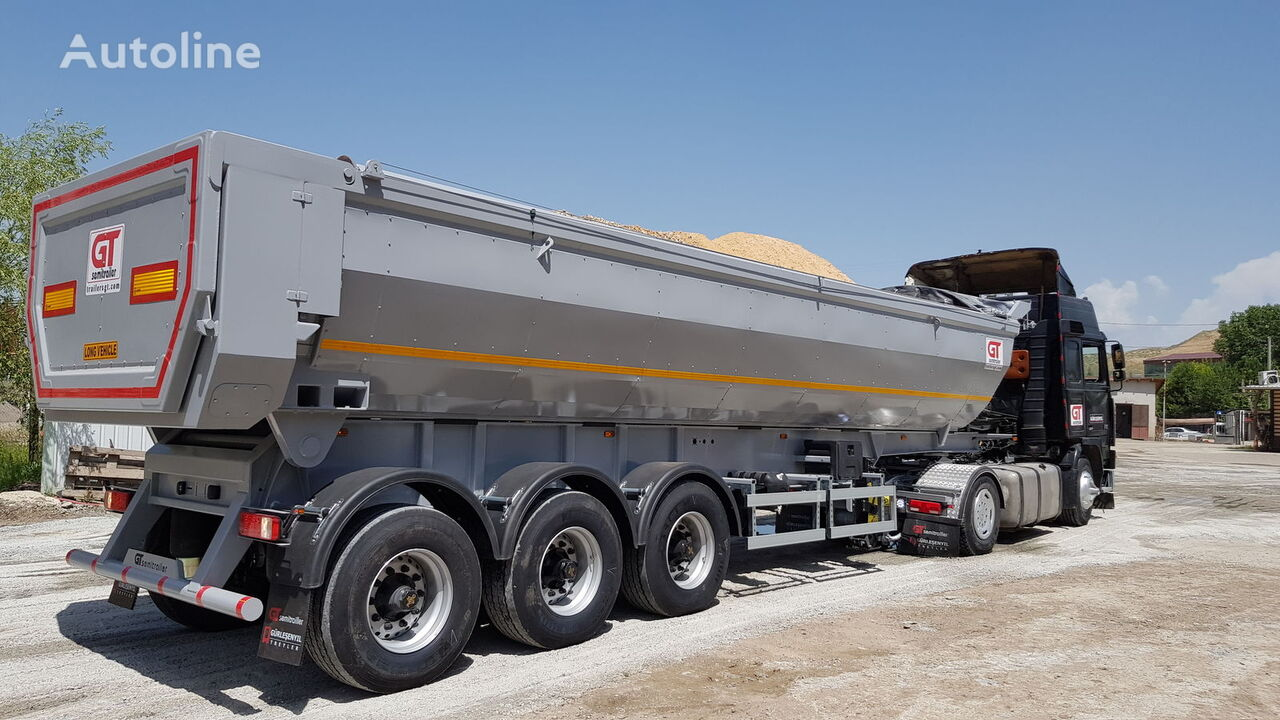 GURLESENYIL thermal insulated tippers semirremolque volquete nuevo