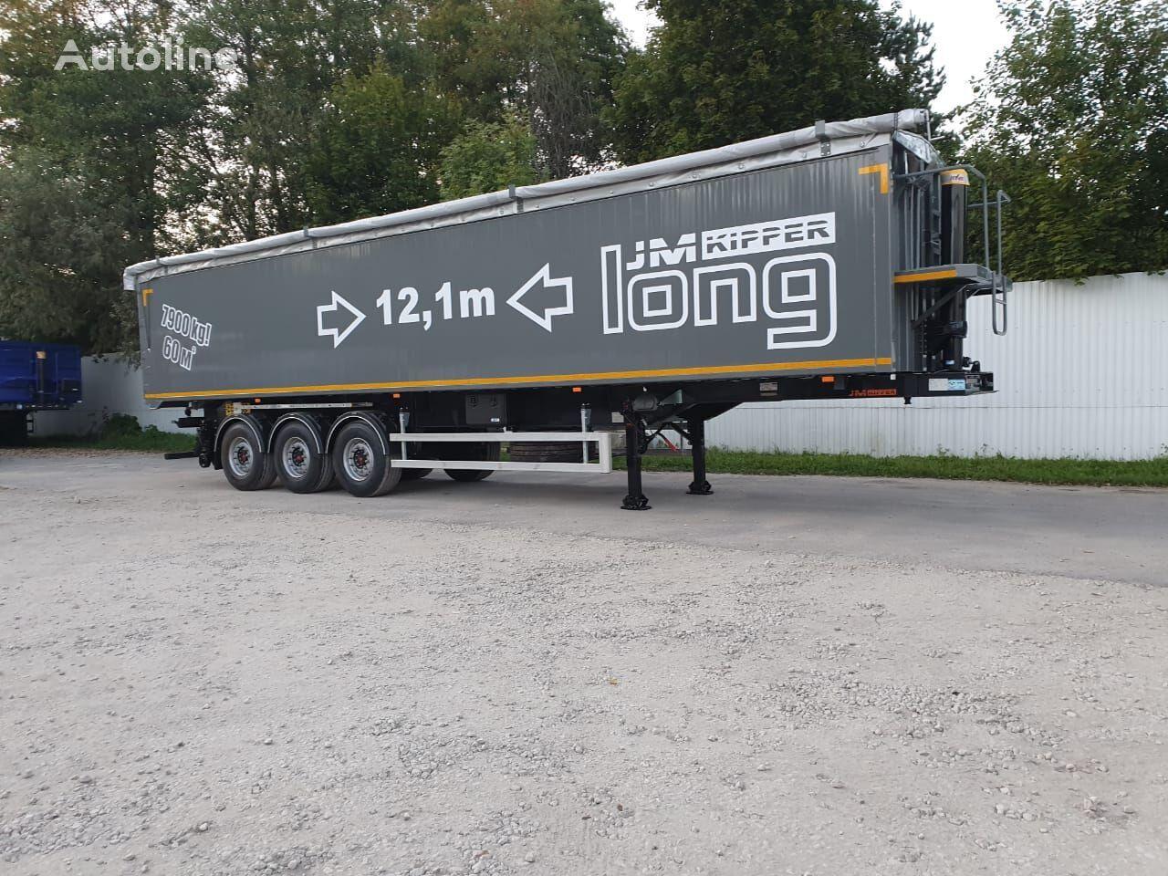 JM-KIPPER 60m3 aluminium semirremolque volquete nuevo