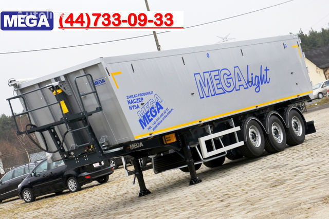 KARGOMIL 50 - 42 m³ SUPER LIGHT alu tipper 5,9T- READY TO TAKE !!! semirremolque volquete nuevo