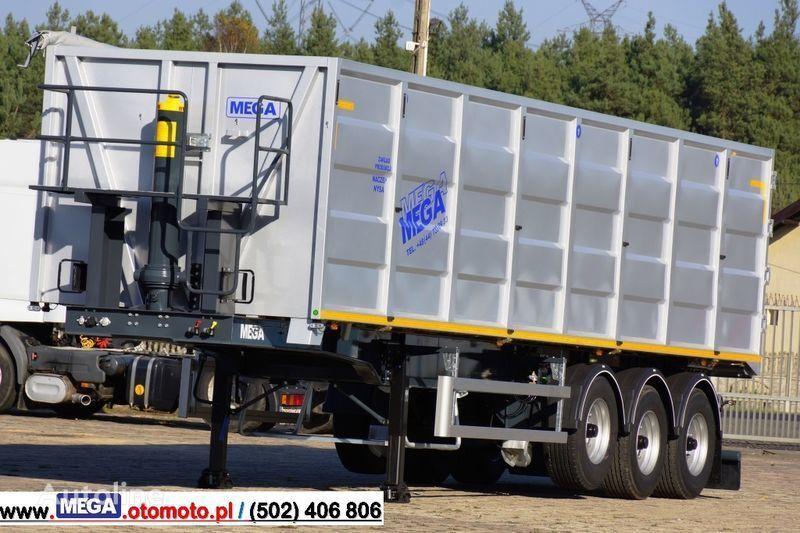 MEGA 10,4 M(L) / 50 M³ DOMEX/OPTIM 650 TIPPER - SCRAP DOOR - READY ! semirremolque volquete nuevo