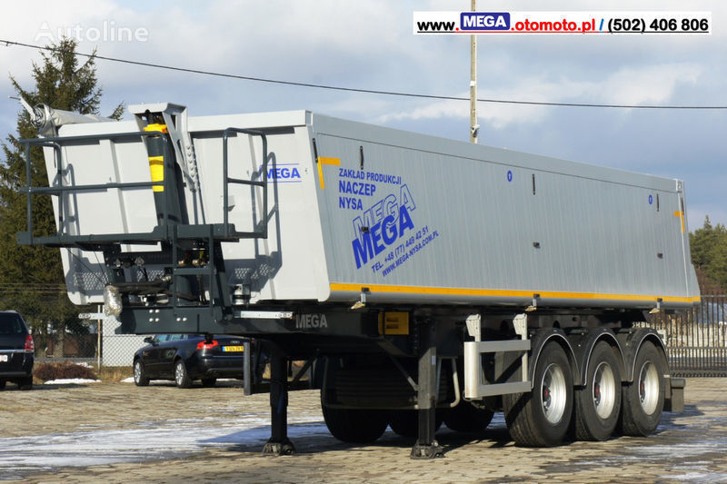 MEGA 30 m³ - SUPER LIGHT - 5,300 KG - SUPER PRICE !!! READY !!! semirremolque volquete nuevo