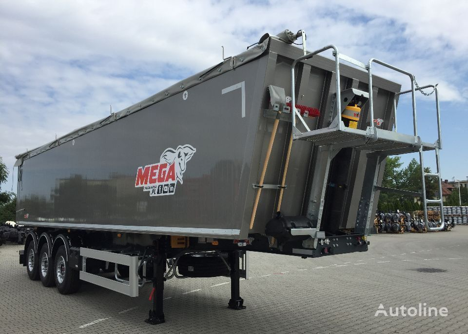 MEGA 45m3 Naczepa Wywrotka Aluminiowa klapo-drzwi semirremolque volquete nuevo
