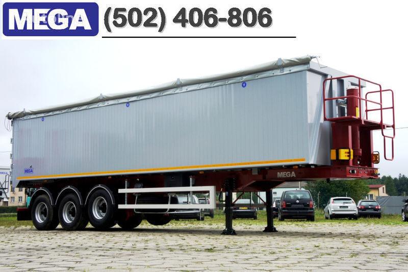 MEGA 50/11300 KD - camosval 50 kub., pama k tyagachu 6x4, VYSOTA 3,00 m semirremolque volquete nuevo