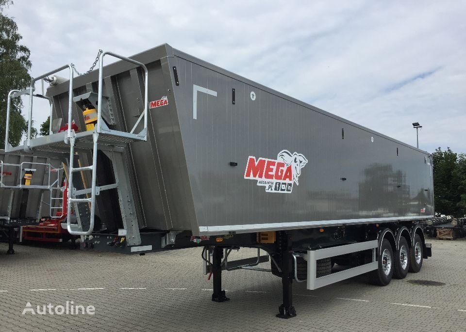 MEGA 55m3 Naczepa Wywrotka Aluminiowa klapo-drzwi semirremolque volquete nuevo