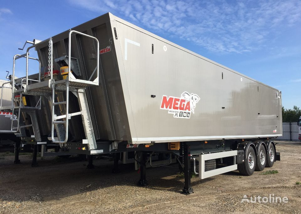 semirremolque volquete MEGA 60 m3 Naczepa Wywrotka Aluminiowa KLAPO-DRZWI nuevo