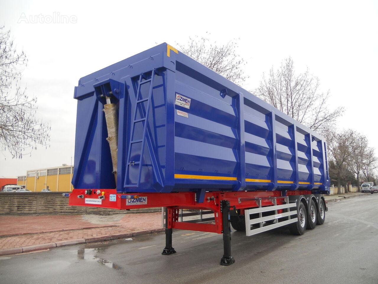 Ozmen Damper 55-60-65-70 m3 H-450 SCRAP METAL CARRIER  semirremolque volquete nuevo