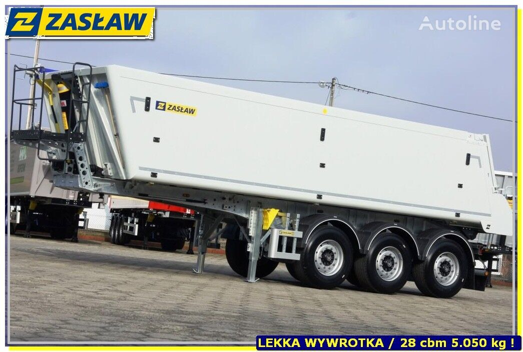 ZASLAW TRAILIS 28/33 m³ / Alum LIGHT - READY  4 PCS  semirremolque volquete nuevo