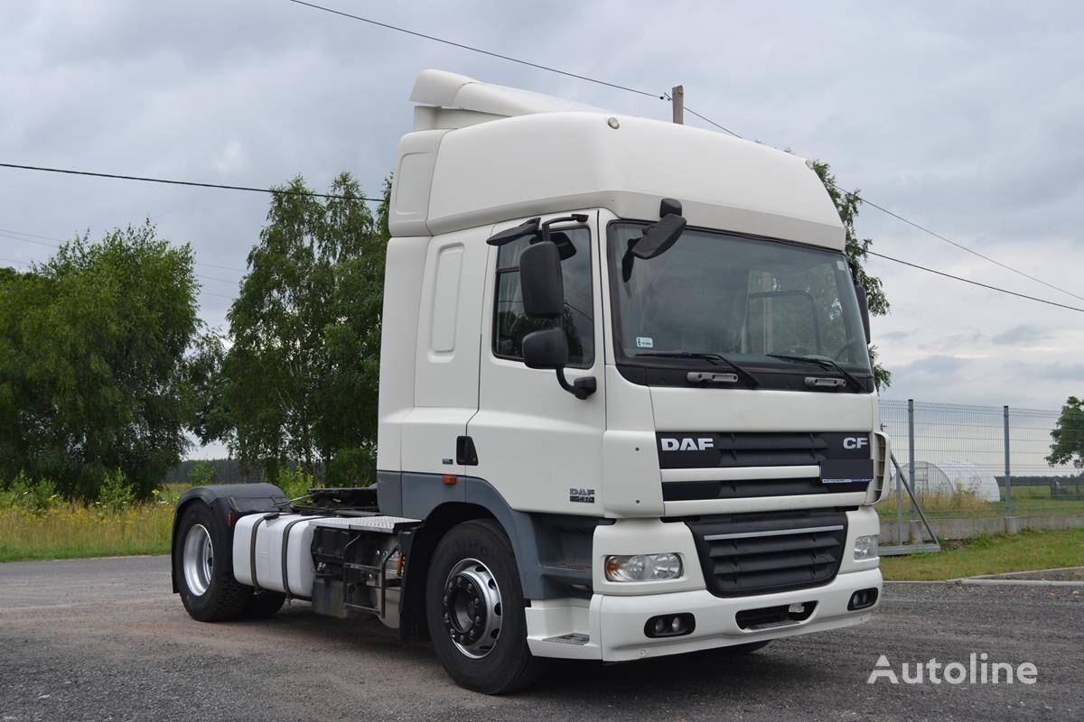 DAF CF 85.410 EURO 5 AUTOMAT TYRES 80% tractora