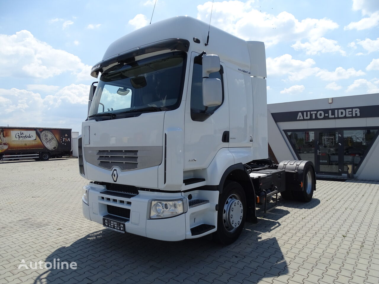 RENAULT PREMIUM 460DXI / ONLY 532 000 KM / FRENCH CAR / GOOD / / / tractora