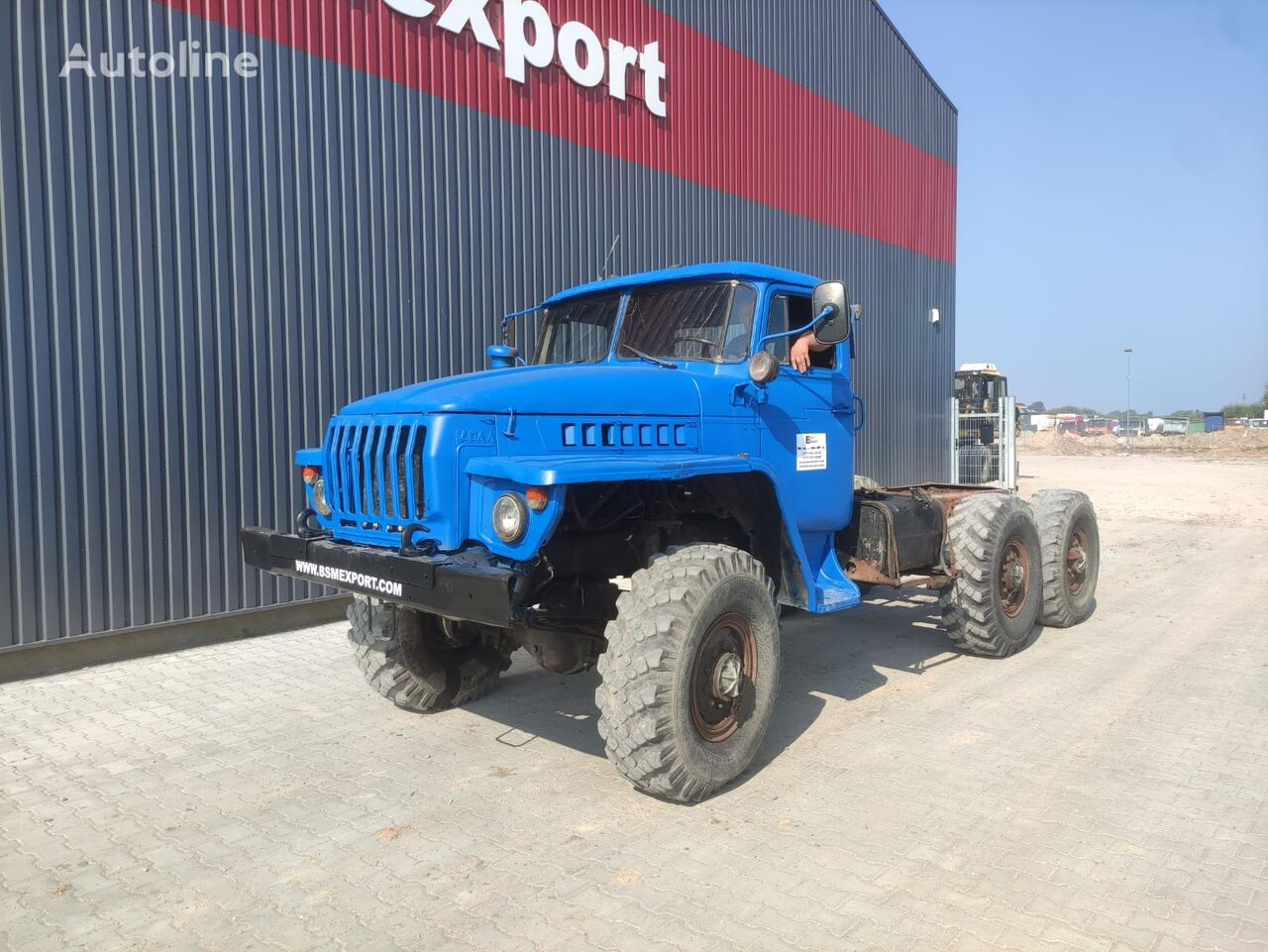 URAL tractora