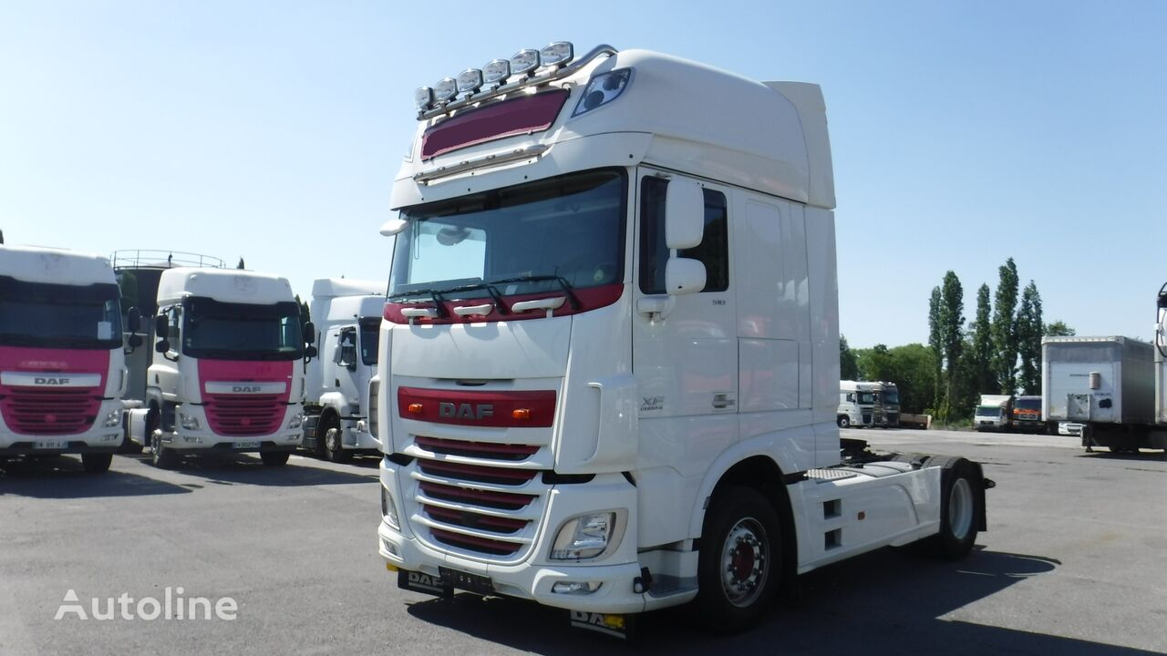 DAF 106XF 510 Super Space Cab (manual, Retarder) tractora