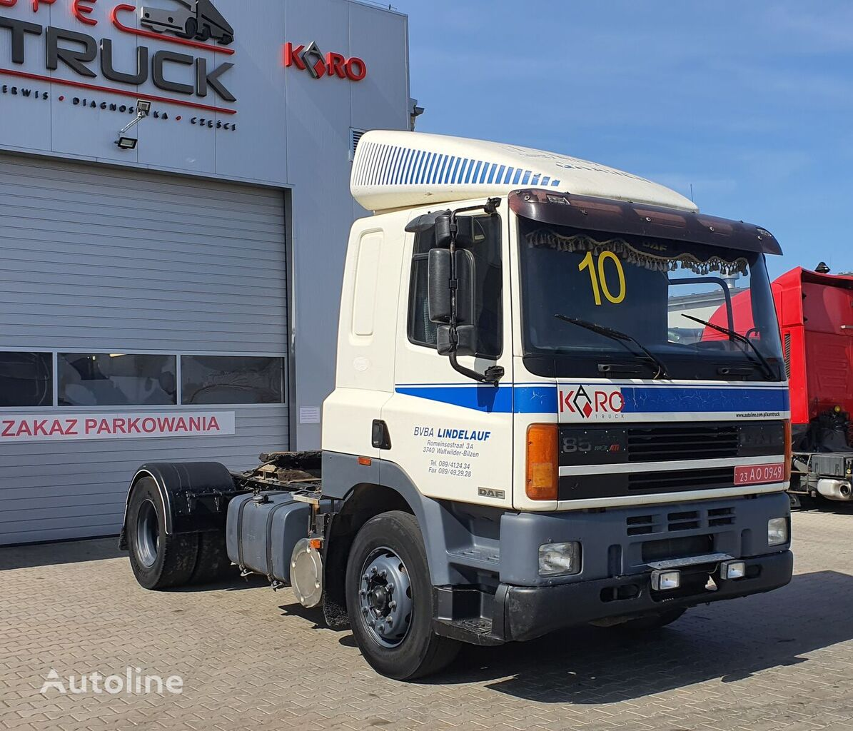 DAF ATI 85.360, Steel /Air, Manual tractora