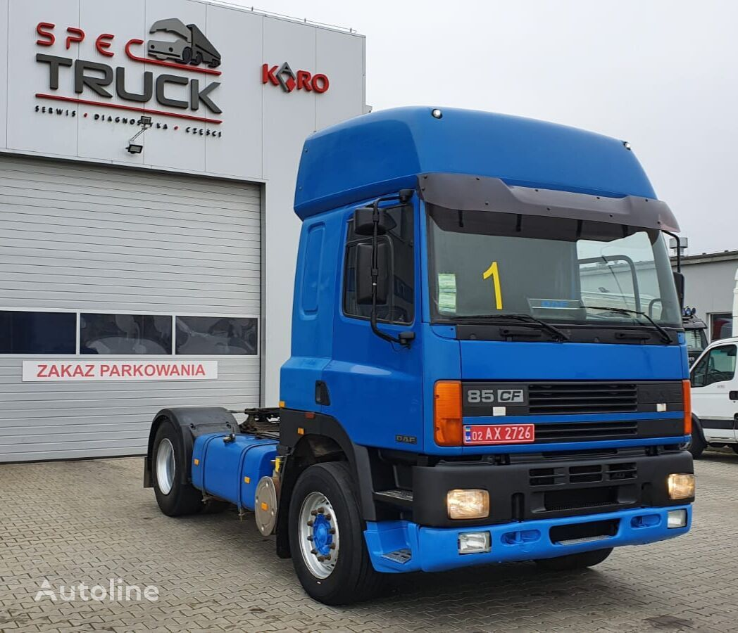 DAF CF 85 380, Steel/Air, Manual , EURO 2 tractora