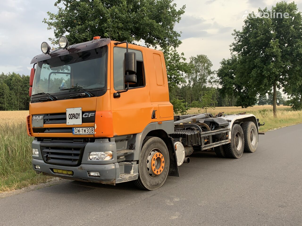 DAF CF 85.480 EURO 3 MANUAL RETARDER  tractora