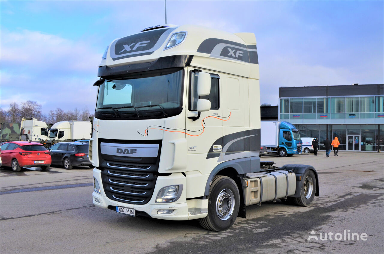 DAF XF 106 460 SSC AS-TRONIC SLIMCOOL E6 tractora