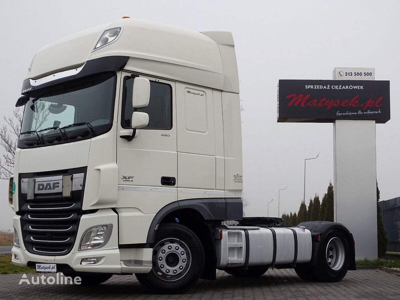 DAF XF 460 / SUPER SPACE CAB / ACC / NEW TIRES / 2016 YEAR /  tractora