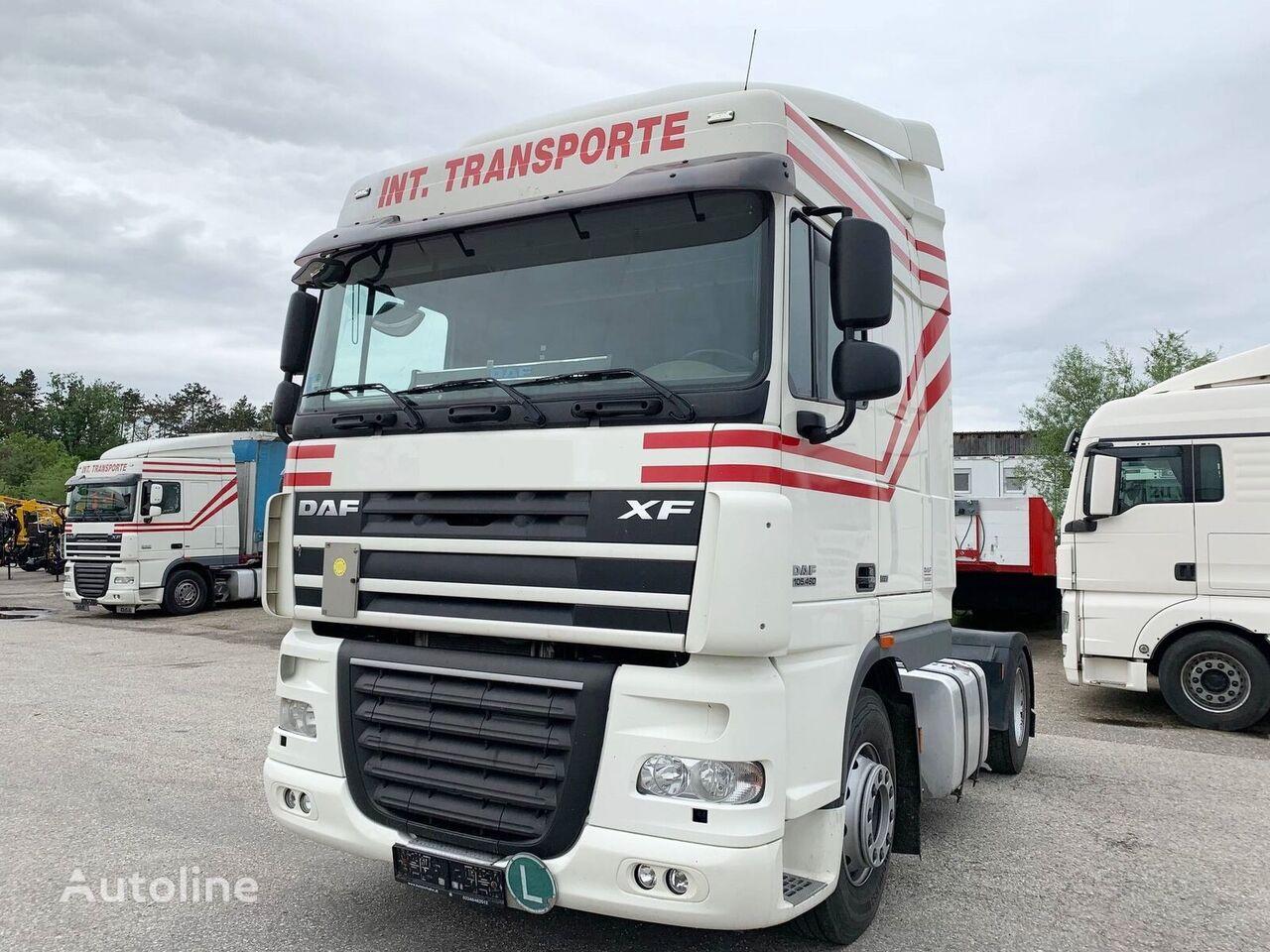 DAF XF105.460 E5 *EEV* RETARDER/INTARDER - SCHALTGETRIEBE tractora