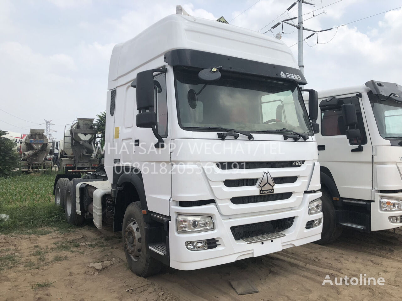 HOWO A7 CNG tractora