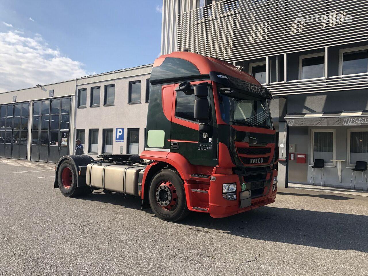 IVECO AT440S46TP - ADR + HYDRAULIK tractora