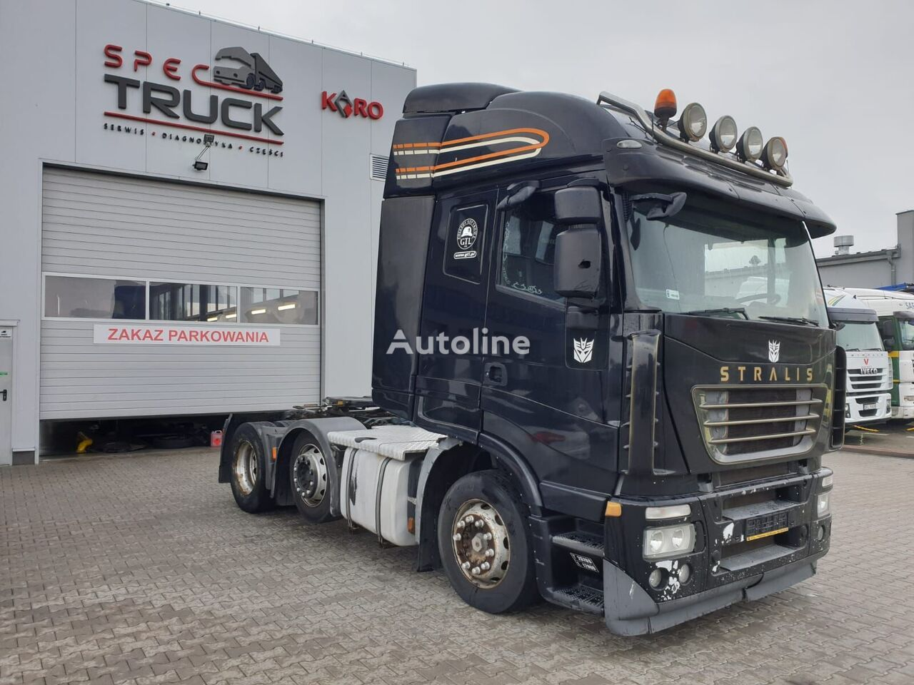 IVECO Stralis 450,Steel/Air,Automat-M tractora