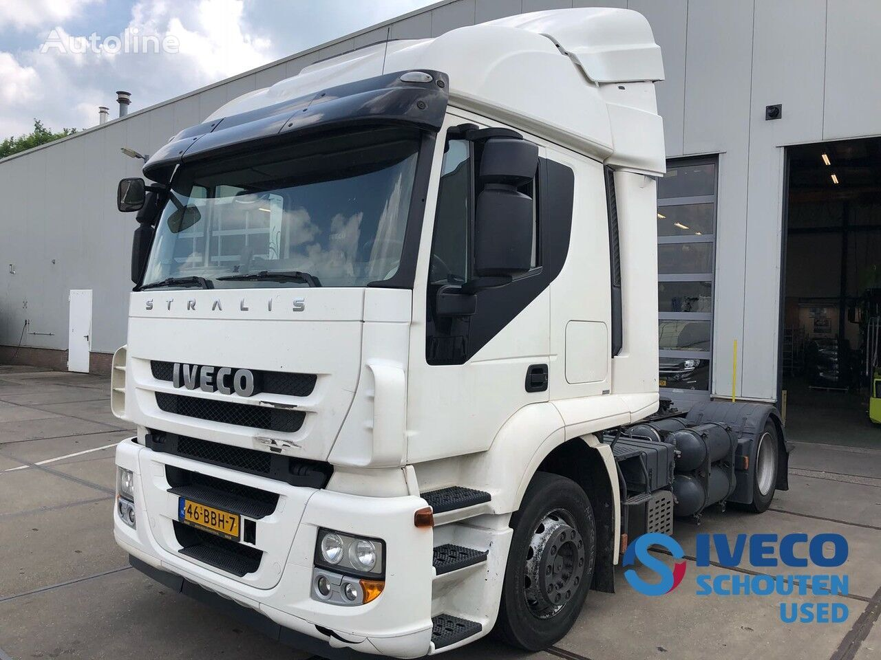 tractora IVECO Stralis AT440S33T/P CNG / LNG 2013 intarder Mautvrij Duitsland t